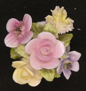 Coalport Bone China Bouquet of Flowers in Urn Vase