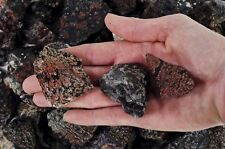 5 Pounds of Snowflake Obsidian Rough - Volcano Glass - Cabbing, Tumble Rocks