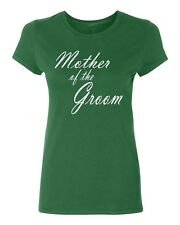 MOTHER of the GROOM wedding gift bridal party team bride Women's T-shirt
