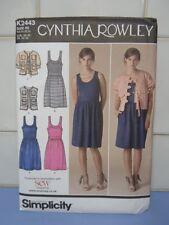 Simplicity 2443 Cynthia Rowley Dress sizes 6-14