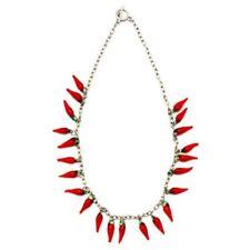 Collares y colgantes de bisutería colgantes color principal rojo de aleación