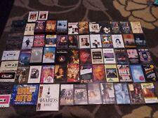 68 x 1980s 1990s POP ROCK CASSETTE TAPES job lot bundle Blur Bowie Eels Sade etc