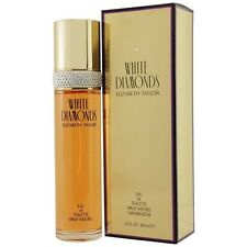 White Diamonds Eau de Toilette Spray 3.3oz 100m by Elizabeth Taylor *New in Box