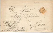 P5993   Siena, CETONA, annullo numerale a punti + tondo piccolo 1877