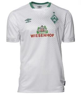 Umbro Men's Werder Bremen 2019 Third Soccer Jersey Sz. Medium NEW UUM179164U