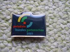 Pin Bundesgartenschau Potsdam 2001 Buga-Gelände Brandenburg Deutschland Germany