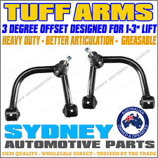 HEAVY DUTY TUFF ARMS - 3 DEGREE OFFSET Toyota Hilux KUN26 4WD Upper Control Arms