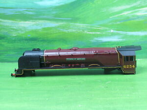 Hornby R305 Duchess of Abercorn 4-6-2 loco body shell only 6234 with screw