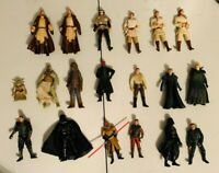 1998/2001 Hasbro Star Wars  Action Figures Variety Lot of 19 3.75''