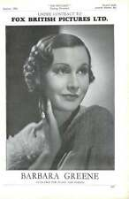 1936, Actors, Barbara Greene, Leueen Macgrath