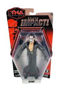2010 NWA TNA Deluxe Impact Jakks Sting Wrestling Figure Series 3 WWF WWE AEW