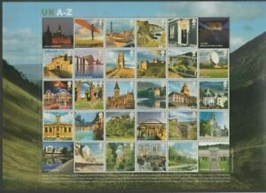 GB 2012 Uk A-Z composite sheet UNMOUNTED MINT/MNH