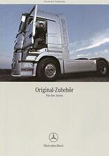 Prospekt 2006 Mercedes Actros Zubehör 1.9.06 brochure truck accessories broschyr