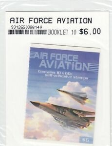 Australia 2011 Air Force Aviation Stamp Booklet