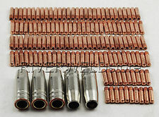 MB 15 AK MIG/MAG Welding Torch Consumables of Contact Tip and Nozzle 145pcs