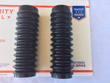 Honda CB750K CB500 CB550 CB450 CL450 350 2 BRAND NEW FORK GAITERS RUBBERS BOOTS