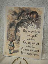 5 Alice in Wonderland Posters Set 2