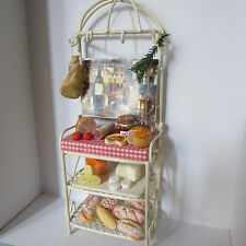 Dolls House Food   Display on  Wire Racking    BM302