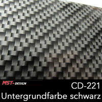 Wassertransferdruck Folie WTD WTP Carbon grob 2m x 60cm CD-221 Hydrographic Film