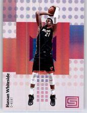 2017-18 Status Hassan Whiteside NBA PWE Base Card Heat #78