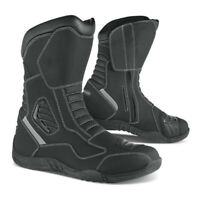 RH TOURING WATERPROOF LEATHER BOOTS MOTORCYCLE MOTORBIKE ALL SIZES