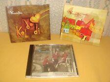 LOT DE 3 CD ALBUM / YVOSTELLKA KOLDODI DUMENGIA PASSAGE EST OUEST folk suisse EX
