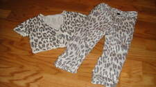 BABY GAP 18-24 LEOPARD CHEETAH SWEATER PANT SET
