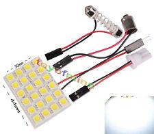 T10 BA9S della luce dell'automobile 24 Pannello di SMD LED lampada 12V Adapter