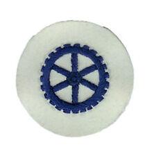 Kriegsmarine Machine Engines EM Trade Badge - WW2 Repro Patch Navy Sailor Wheel