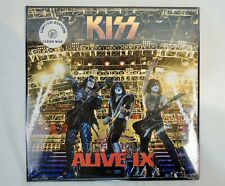 KISS Alive IX Limited Ed. Clear Colored Vinyl LP x 2 Swingin Pig Records 2013