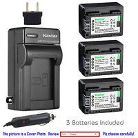 Kastar Battery Travel Charger for Canon BP-718 CG-700 Canon VIXIA HF R72 Camera