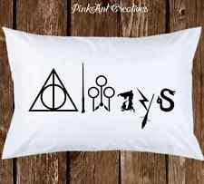 "Harry Potter ""Always"" Hogwarts Pillow case Birthday Gift Cool Pillow cases"