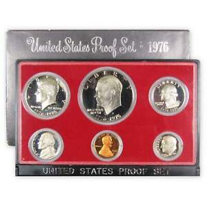 1976 S Proof Set U.S. Mint Original Government Packaging OGP Collectible