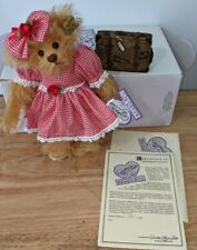 Annette Funicello Frances Bear with Suitcase with Coa and box