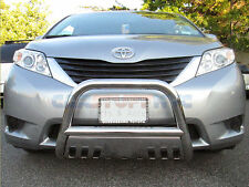 08-14 Toyota Land Cruiser Stainless Bull Bar Front Bumper Protector Grille Guard