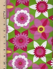 DAFFY DOWN DILLY PWJS051 FREE SPIRIT   100% Cotton Fabric priced by the 1/2 yard