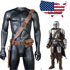 The Mandal Belt PU Leather Leg Pack Gun Package Movie Cosplay Costume Prop