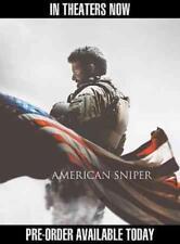 AMERICAN SNIPER NEW DVD