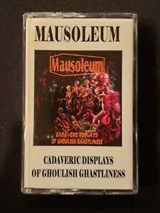 MAUSOLEUM - Cadaveric Displays of Ghoulish Ghastliness [Cassette]