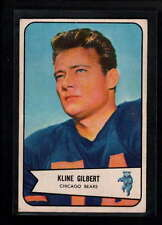 1954 BOWMAN #123 KLINE GILBERT EX-MT D9669