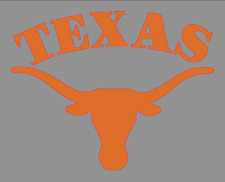 "University of Texas Longhorns Logo 6"" Die-Cut Vinyl Decal Bumper Sticker NCAA"