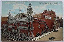 Hippodrome Railway New York City Antique Postcard American Art Publisher