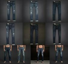 NWT HOLLISTER by ABERCROMBIE & FITCH MEN'S SLIM STRAIGHT & boot cut JEANS ALL SZ