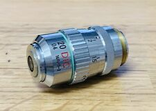 NIKON LWD 20x/0.4 DIC / Nomarski 160mm Microscope Objective w Correction Collar