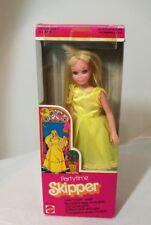 Vintage Barbie Ancienne SKIPPER PARTYTIME 70's Barbie Superstar