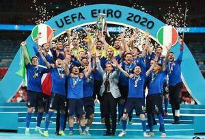 Italy winner final  UEFA euro 2020 Italy vs England FRIDGE MAGNET print 2.5x3.5