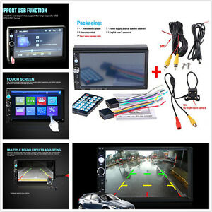 Car Radio Stereo 7.0'' HD Touch Screen MP5 Player SD MP3/MP4 Bluetooth Handsfree