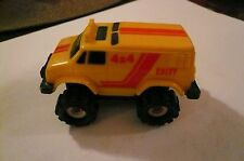 Schaper Stomper 1980s Chevy Van Chevrolet Conversion 4x4 Yellow
