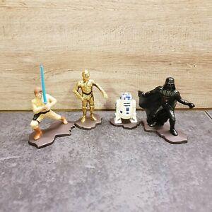 Star Wars 1994 Kenner Action Masters Die Cast Models x 4 RD-D2/Darth Vader etc..