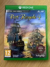 Port Royale 4 para/serie X-XBox One Excelente Estado Inc Póster/mapa